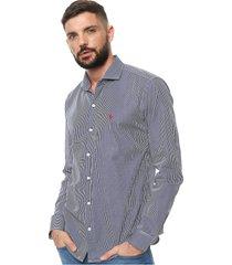 camisa azul crow berna classics