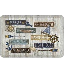 laural home beach front kitchen mat