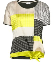 t-shirt short-sleeve blouses short-sleeved multi/mönstrad gerry weber