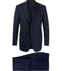 canali two-piece formal suit - blue