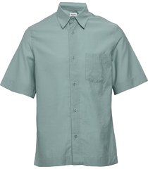 m. owen shirt overhemd met korte mouwen groen filippa k