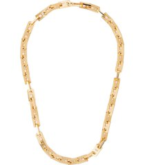 ambush 'a'-chain short necklace - gold
