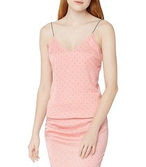 dotted camisole top