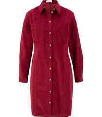 abito in velluto elasticizzato (rosso) - john baner jeanswear