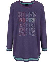 sweatshirt miamoda paars