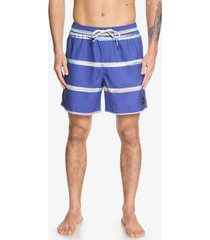 "dunes stripes 17"" swim shorts"