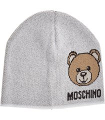 moschino teddy beanie