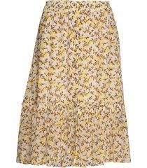 citronkb skirt knälång kjol gul karen by simonsen