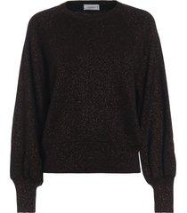 dondup lurex wool blend sweater