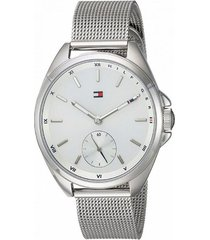 reloj tommy hilfiger 1781758 plateado -superbrands