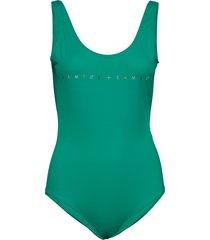 bari swimsuit 10725 baddräkt badkläder grön samsøe samsøe