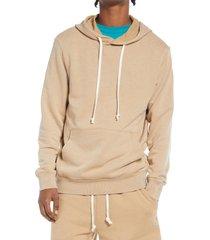 men's alternative asher zip hoodie, size xx-large - beige