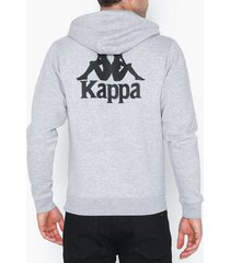 kappa sweat hood willie tröjor grå