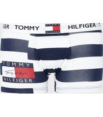tommy hilfiger trunk print boxershorts blå