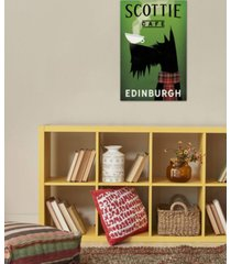 """icanvas """"scottie cafe"""" by ryan fowler gallery-wrapped canvas print (40 x 26 x 0.75)"""