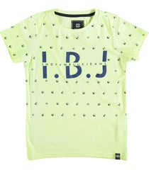 indian blue jeans stevig zacht t-shirt bright lime