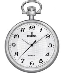 reloj f2020/1 blanco festina hombre bolsillo