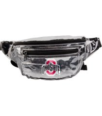 forever collectibles ohio state buckeyes clear fanny pack
