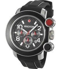 relógio magnum analógico conógrafo ma34576v masculino