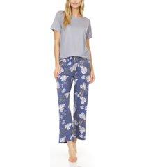 flora nikrooz collection women's deandra 2 piece lounge pajama set