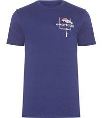 camiseta masculina versatile mini logo - azul