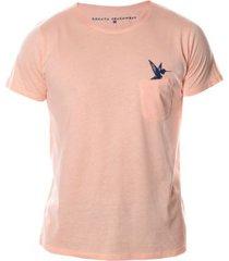 camiseta colibrí coral