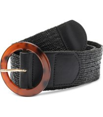 inc international concepts stretch straw belt, created for macy's