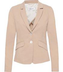 blazer long-sleeve blazers business blazers beige gerry weber