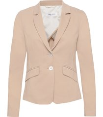 blazer long-sleeve blazers business blazers beige gerry weber