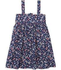 little girl's & girl's bandana swing dress