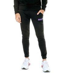 pantalón negro-morado jack & jones