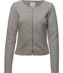 vinaja new short jacket- noos blazer grå vila