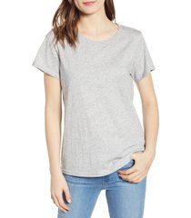 paige ellison tee, size x-large in heather grey at nordstrom