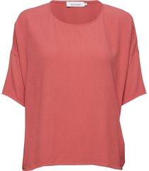mains tee 5687 blouses short-sleeved rosa samsøe samsøe