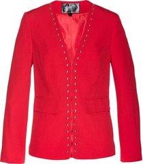 blazer con borchie (rosso) - bpc selection