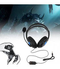 eh sony ps3 playstation 4 wired gaming headset audifonos con microfono