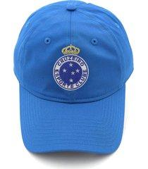 bonã© new era 920 cruzeiro futebol azul - azul - masculino - dafiti
