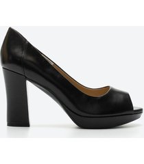 zapato casual mujer naturalizer z0p7 negro