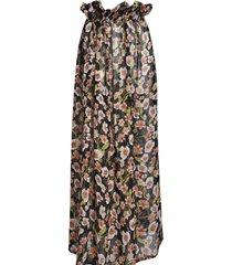 spódnica w kwiaty szyfonowa