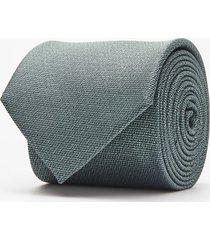 krawat gładki zielony 100
