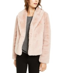 inc faux-fur coat, created for macy's