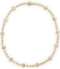 'pallazo ducale' diamond 18k yellow gold necklace