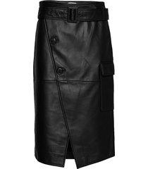 2nd sway knälång kjol svart 2ndday