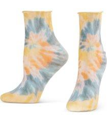 hue women's tie-dye-print socks