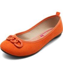 baleta naranja moleca