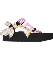arizona love trekky bandana detail sandals - pink