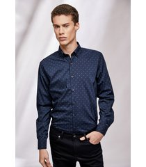 camisa azul prototype orion