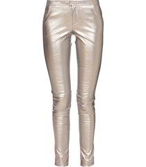 spodnie srebrne i