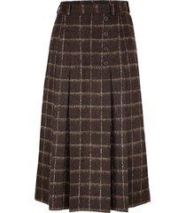 kjol mona brun