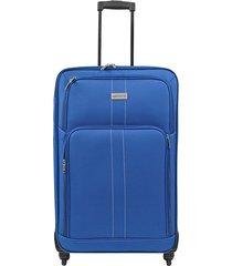 """maleta de viaje mediana omni 24"""" azul - explora"""